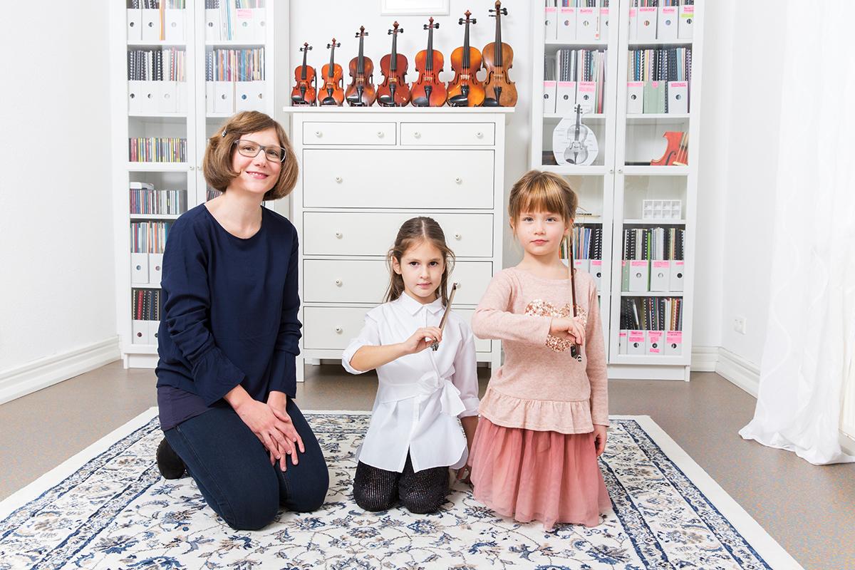 Musikunterricht Geige bei die Erste Geige Frankfurt, Musik-Akademie Johanna Bartelt (Foto: Markus Palzer)