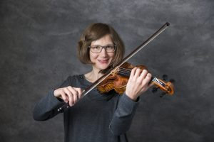 Johanna Bartelt, die Erste Geige Frankfurt, Musik-Akademie Johanna Bartelt (Foto: Markus Palzer)